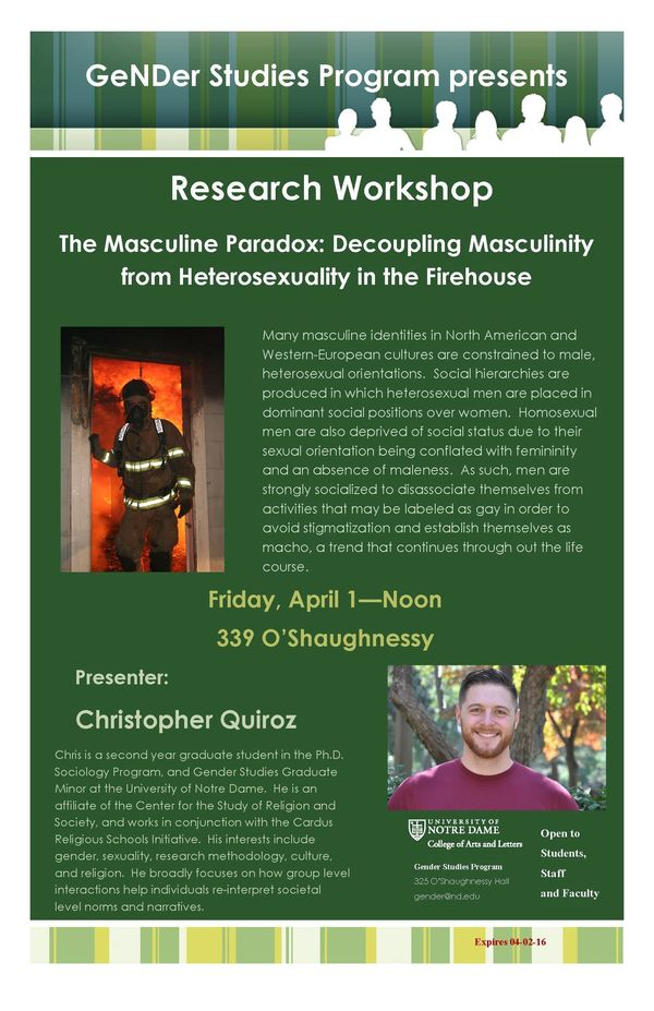the_masculine_paradox_decoupling_masculinity_from_heterosexuality_in_the_firehouse_poster