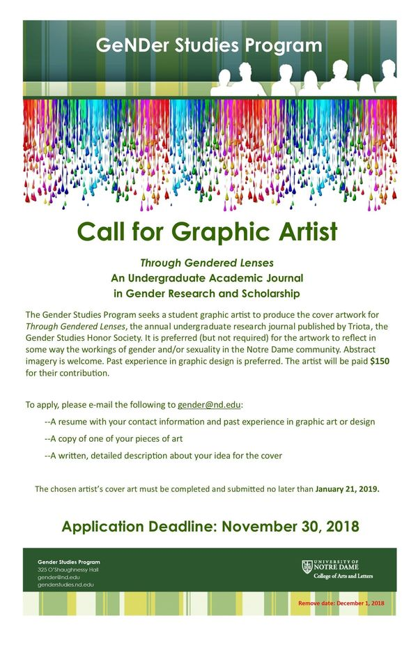Call For Graphic Artist Poster