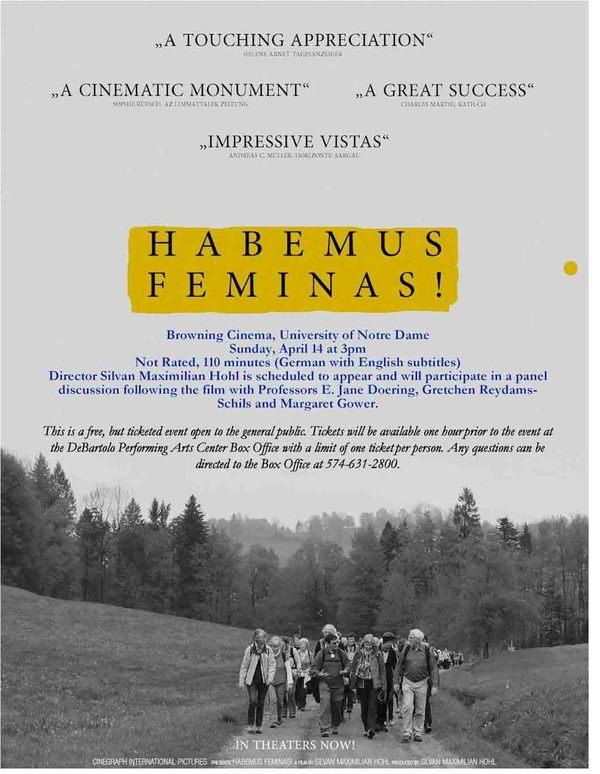 Habemus Feminas Flyer Page 1 Edited