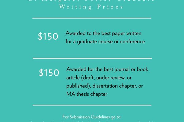 Writing Awards Graduate 2020