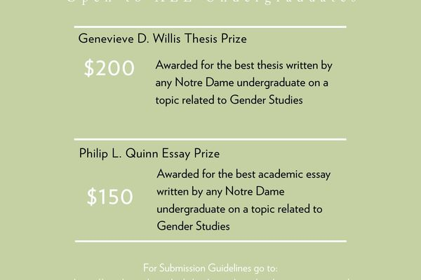 Writing Awards Undergraduate 2020