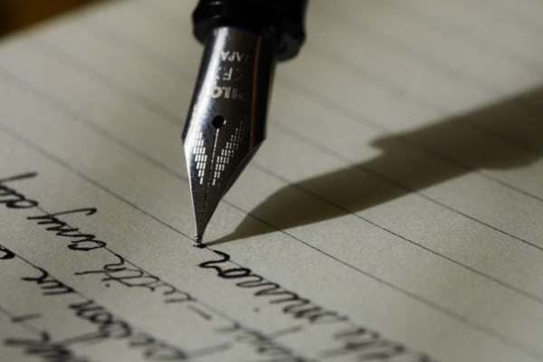 Pen Writing Letter